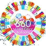 New Vibrant Colors. Water Balloons Have Never Been This Easy! Easy And Rapid-Filling Water Balloons: Save filling time and jump into the outdoor fun this summer! Fill & Tie 660 Water Balloons in just 60 Seconds! Magic Balloons: Say goodbye to the str...