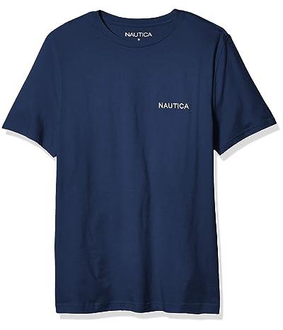 Nautica Short Sleeve Solid Crew Neck T-Shirt