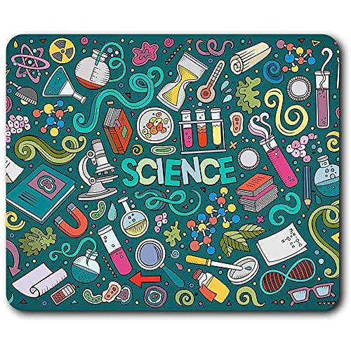 Komfortable Mausunterlage - Wissenschaft Biologie Chemie Physik Uni für Computer & Laptop, Büro, Geschenk, rutschfeste Unterlage