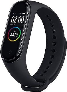 KLiHD Smartwatch,Pulsera de Actividad física M4,Reloj Inteligente con Oxígeno Sanguíneo Presión Arterial Frecuencia Cardía...