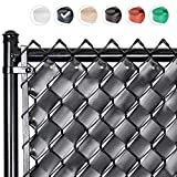 Fenpro Chain Link Fence Privacy Tape (Obsidian Black)