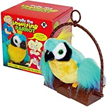 Unbranded Motion Activated Polly The Insulting Parrot Bird Offensive Adult Talking