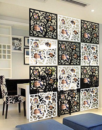 Kernorv Álbum de Fotos biombo de 12 Paneles, Divisor habitación ...