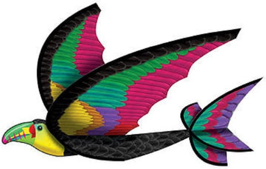 Flexwing Cheap mail order shopping 3-d Nylon gift 25-inches Toucan Glider