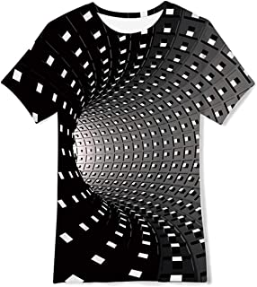 Little Big Boys Girls Graphic Tees Funny 3D Printed Short Sleeve Youth T Shirts Top 6-14T