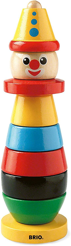 BRIO 30120 Wooden Toys  Stacking Clown