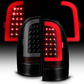 ACANII - For Black Smoked 2005-2015 Toyota Tacoma LED Tube Tail Lights Lamps Left+Right