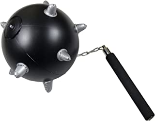 spiked ball and chain weapon