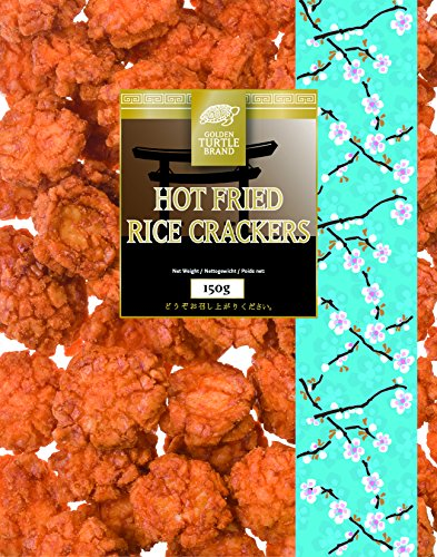 Golden Turtle Scharf Frittierte Reiscracker 150g