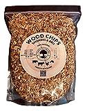 5 Litres de copeaux de bois 100% naturel des forêts de Pologne pour barbecue et fumoir (Pommier)
