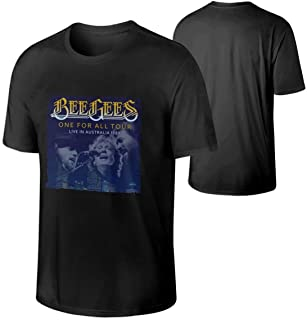Man's Bee Gees One for All Tour Fashion Customized Short Sleeve T-Shirt