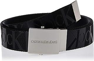 Calvin Klein Men's J PLAQUE CANVAS BELT 4CM Belt