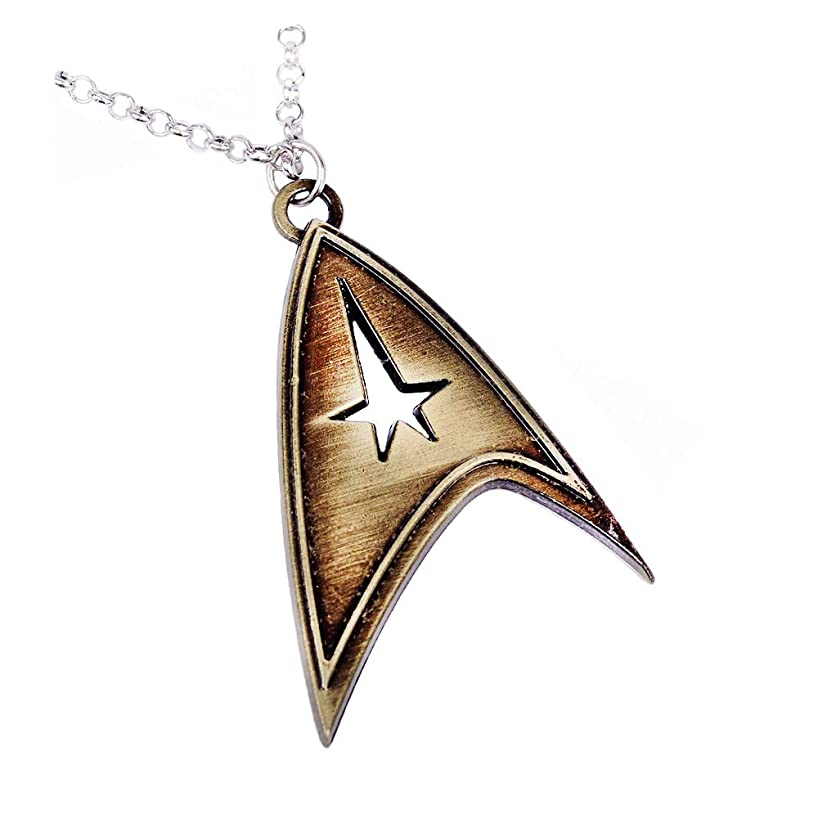 Star Trek Accessories Metal Necklace Pendant Charm Gifts for Teen Boy Girl Best Friend/Collection