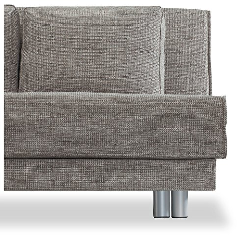 Verholt Design Schlafsofa Anne Milwaukee In Grau 150 X 88 X 100 Cm