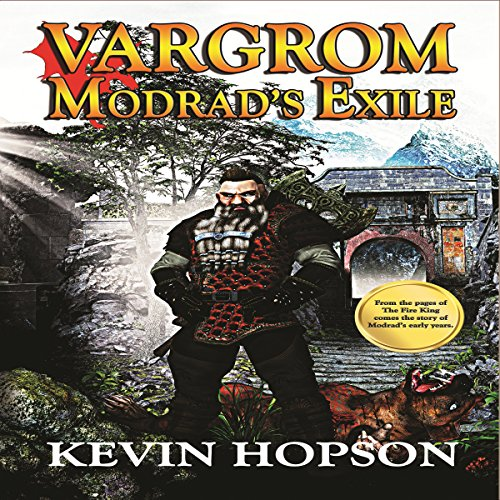 Vargrom audiobook cover art