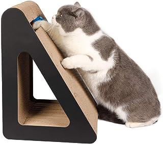 猫用爪とぎ ダンボール 猫 つめとぎ 爪とぎ 猫おもちゃ 段ボール 鈴付き 猫スクラッチャー ダンボールガリガリ 大型 猫ハウス 猫ベッド 家具保護 運動不足解消