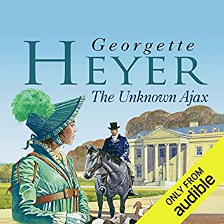 The Unknown Ajax                   By:                                                                                                                                 Georgette Heyer                               Narrated by:                                                                                                                                 Daniel Philpott                      Length: 11 hrs and 50 mins     277 ratings     Overall 4.5