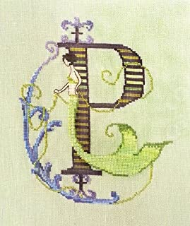 Letters From Mermaids-P Cross Stitch Chart