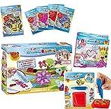CRAZE Juego de cuentas para niña para manualidades, Splash Beadys Beadys XXL Megaset Empleo Set para niños Activity Bundle Girls, incluye accesorios 27691, Fuse Beads