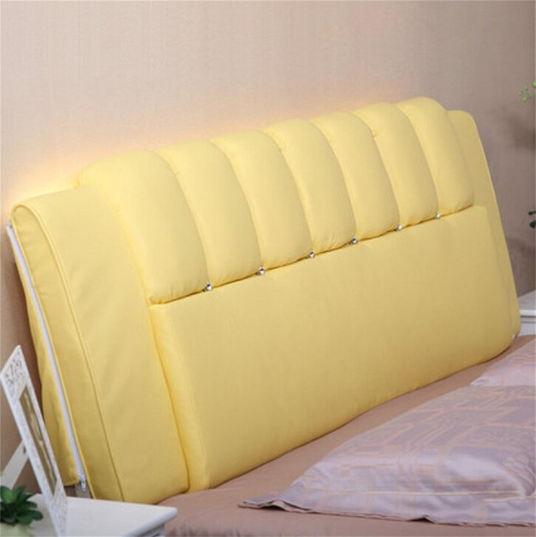CX-PILFaible Moderne chevet Soft Case Simple Coussin Magie Couleur Murs Coussin Grand dossier Couverture de chevet en cuir pour 1.2m lit ou 1.5m Bed Mode jolie oreiller (Couleur    8, taille   1.2m Bed)