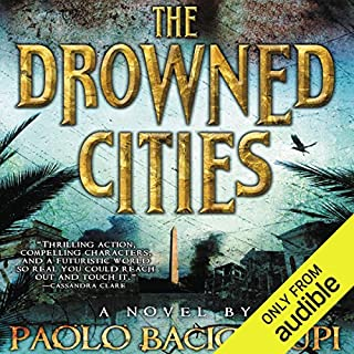 The Drowned Cities audiobook cover art
