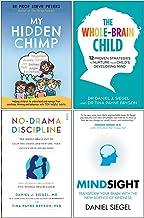 My Hidden Chimp, The Whole Brain Child, No Drama Discipline, Mindsight 4 Books Collection Set