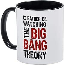 Watching Big Bang Theory 2 Mug - Ceramic RINGER 11oz Coffee/Tea Cup Gift Stocking Stuffer