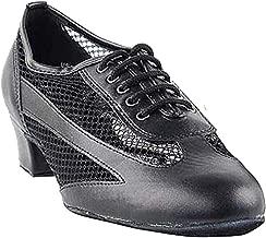 Women's Ballroom Dance Shoes Salsa Latin Practice Shoes 2009EB Comfortable-Very Fine 1.5