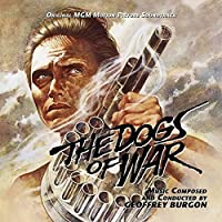 The Dogs of War, limited-edition CD-Original Soundtrack Recording by Geoffrey Burgon
