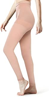 Medical Compression Pantyhose Collection(Open Toe, Closed Toe,Footless)Women Men - Opaque Compression stockings Pantyhose Firm Graduated Support 20-30mmHg Helps Relieve Symptoms of Mild Varicose Veins