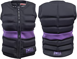 Womens Neoprene Wakesurf Comp Vest - Designed Exclusively for Wake Surfing, but Great for All Other Watersports Activities!
