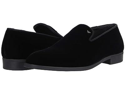 Emporio Armani Velvet Formal Tux Slip-On (Black) Men