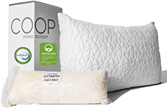 Best Coop Home Goods - Eden Adjustable Pillow - Hypoallergenic Shredded Memory Foam With Cooling Gel - Lulltra Washable Cover From Bamboo Derived Rayon - Certipur-us/greenguard Gold Certified - Queen Reviews [2020]