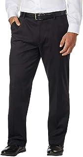 Greg Norman Men's Ultimate 5 Pocket Travel Pant (Black, 36x34)
