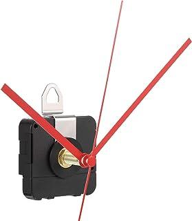 28 mm Mouvement d'Horloge à Quartz d'Arbre Long Kit de Réparation de Pièces d'Horlogerie (Rouge)