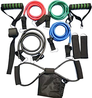 Fitness Equipment 11 Pcs Chest Expander Sculpt Yoga Rally Robust Resistance Sturdy for Full-Body Workout Asanas Sports Pull Stretcher