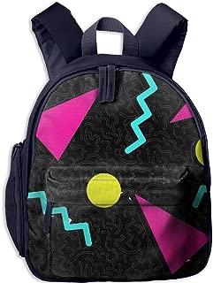 Pinta 80s Memphis Cub Cool School Book Bag Backpacks for Girl's Boy's