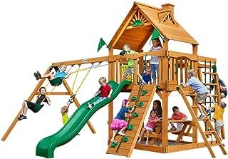 Gorilla Playsets Navigator Swing Set w/Natural Cedar