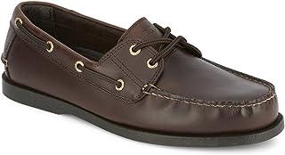 Dockers Mens Vargas Leather Handsewn Boat Shoe