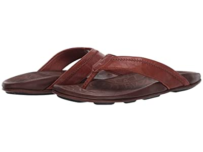 OluKai Hiapo (Rum/Dark Wood) Men