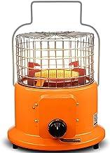 Calentador De Gas Licuado De Calentadores Al Aire Libre De Calefacción por Infrarrojos Estufa Colgante Gas Natural Chimenea Butano Propano Cerámica (Color : Orange)