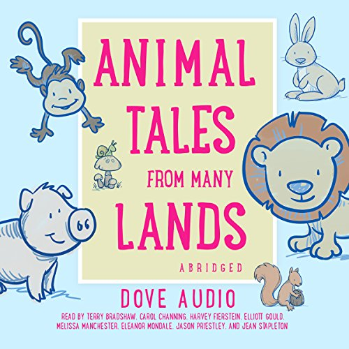 『Animal Tales from Many Lands』のカバーアート