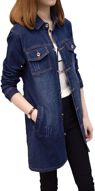 Fashionable loose large size casual denim jacket