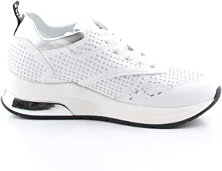 LIU JO Luxury Fashion Womens B69025P010201111 White Sneakers | Fall Winter 19