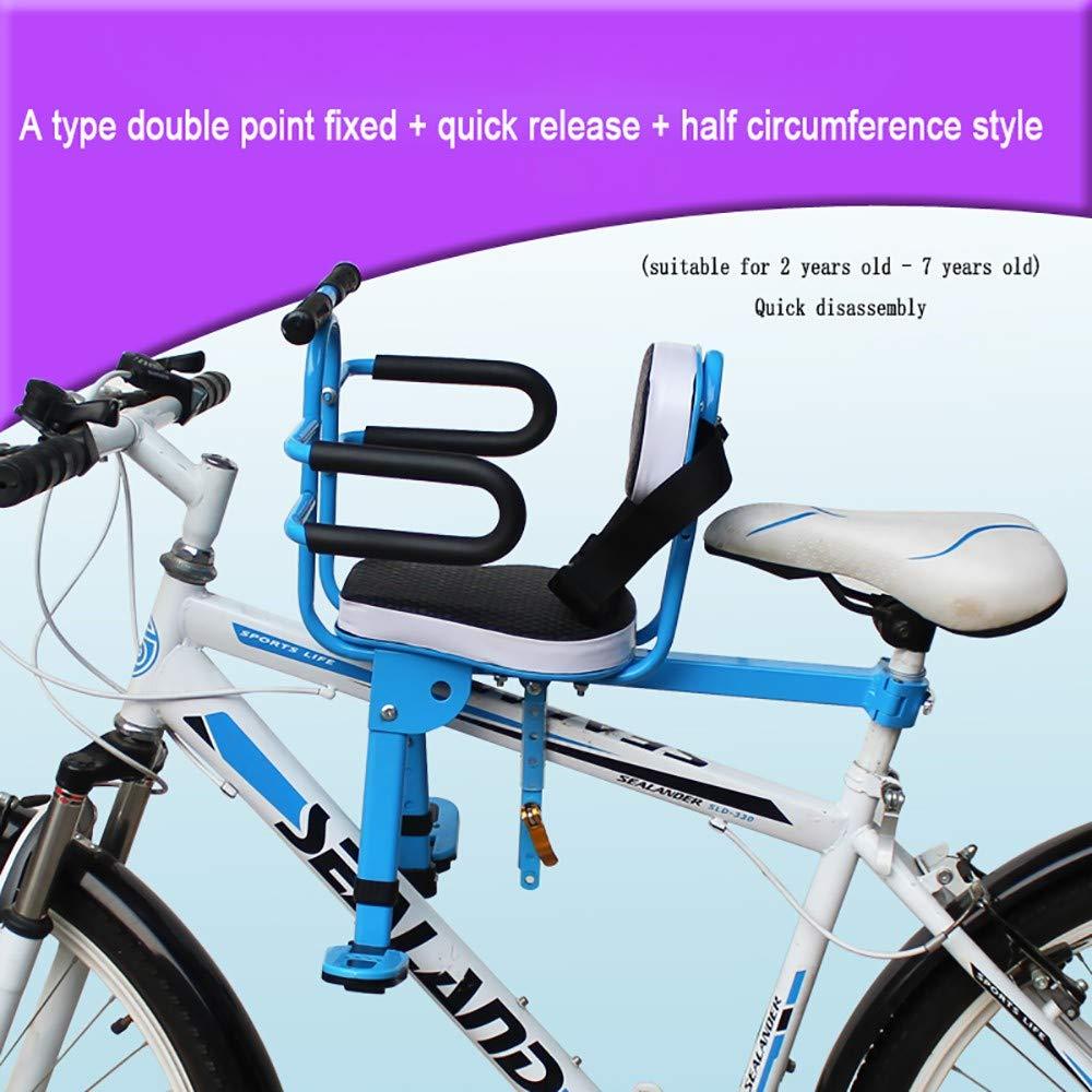 FHGH Silla Bicicleta NiñO,Asiento Bicicleta NiñO Asiento Infantil ...