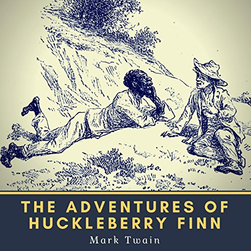 『The Adventures of Huckleberry Finn』のカバーアート