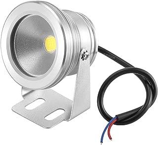 Lemonbest 12v Water resistant LED Underwater Light Flood Lamp for Decorating Landscape Fountain Pond Pool Lighting Lamp 10w Cool White