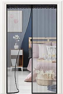 Haplws Moustiquaire Porte 220 cm Aimant Rideau Porte Rideau moustiquaire pour Balcon Porte Salon Patio Porte magn/étique Patio 95