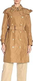 BURBERRY Luxury Fashion Womens 8006112 Brown Trench Coat | Season Permanent