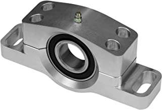 SuperATV Heavy Duty Billet Aluminum Carrier Bearing for Polaris General 1000/4 (See Fitment) - Remote Grease Line Included